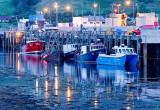Uig Pier at Dusk