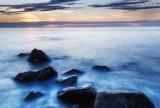 Greenland Sea - Midnight Sunset