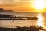 Low Tide Winter Sunset