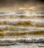 Atlantic Waves at Dusk