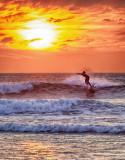 Doonbeg Sunset Surfer