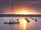 Skerries Harbour Sunset
