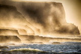 Mist Shrouded Cliffs