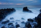 Volcanic Coastline Sunset
