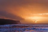 Atlantic Winter Sunset