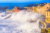 Storm Imogen hits Lahinch Seafront