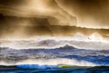 Atlantic Ocean meets the Cliffs of Moher
