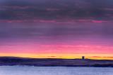 Mutton Island Signal Tower Sunset