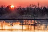 Black Bridge Sunset - After the Flood