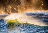 Atlantic Wave at Dusk