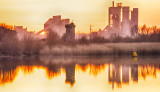 Cement Works Sunset