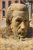Ireland - Dublin Castle - Sand sculpture