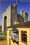Ireland - Co.Clare - Bunratty Castle with Durty Nellys Pub.