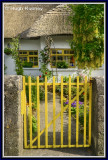 Ireland - Co.Limerick - Adare - Thatched cottage in the village