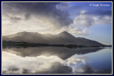 Ireland - Co.Mayo - Clew Bay and Croagh Patrick from Westport