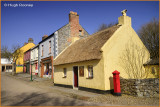Ireland - Co.Clare - Bunratty Folk Park - The Village Street.