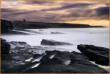 Ireland - Co.Sligo - Mullaghmore - A stormy day at Classiebawn Castle