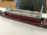 Scratchbuillt flat rack by Henry Baez