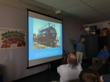 Tony Thompson presented an excellent clinic on SP Tank Cars
