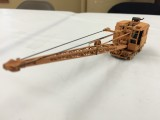 Amazing Scratchbuilt Model 40 Burro Crane with DCC and Sound by Paul Chandler