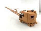 Amazing Scratchbuilt Model 40 Burro Crane by Paul Chandler