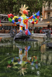 Art on water (Strawinski-Fountain)