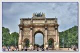 Arc du Carrousel beim Louvre