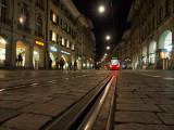 Bern old city by night
