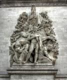 La Paix de 1815, Arc de Triomphe