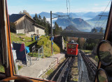 A train goes up to Mount Pilatus