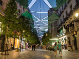 Shopping street in Madrid