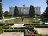 The Palacio Real de Madrid (West facade)