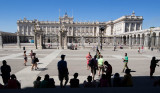 Royal Palace of Madrid, east facade