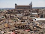 Blick auf Toledo mit dem Alcázar