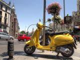 Colored motocycle