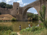 Die Alcantara-Brücke in Toledo / Alcantara Bridge