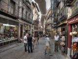 Shopping street Madrid