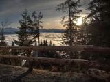 Sunset on Mount Rigi