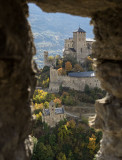 The castle in Sion (Tourbillon)