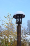 Lampost with Blue Sky