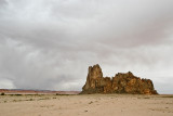 ROCK FORMATION NEAR MONUMENT VALLEY