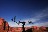 TWILIGHT AT MONUMENT VALLEY