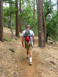 A day hike on PCT Section N