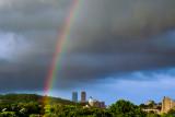 June 9th Rainbow Over Boston