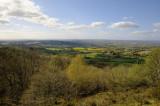 westward views from Malvern Hills