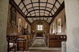 Turnastone church interior