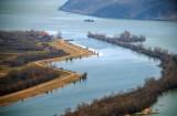 The Danube river, Stara Palanka and Ram
