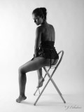 Noelia in b&w (Contiene desnudos/Contains nudity)