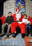 Santa Visits St. Joseph Church - Norwalk CT - December 13, 2014