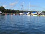 På väg ut från hamnen  Foto Anita